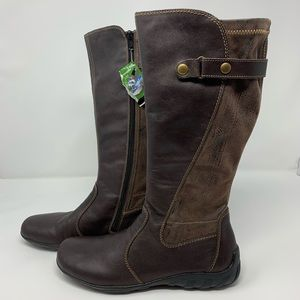 Remonte Leather Biker Boot by Rieker Size 38